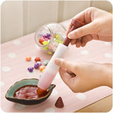 2017 New Cute Dessert Tools Silicone Fondant Cake Pen Pastry Icing Writing Syringe -  cake lover