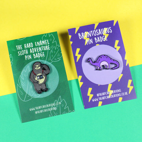 Unique Hard Enamel Pin Badges