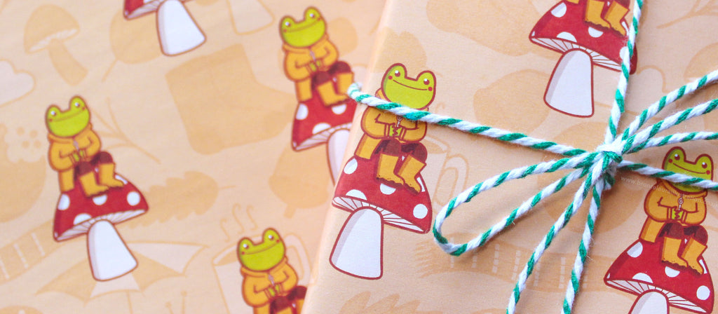 Cute Autumn Wrapping Paper