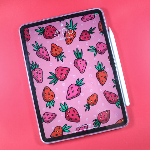 Strawberry iPad Case