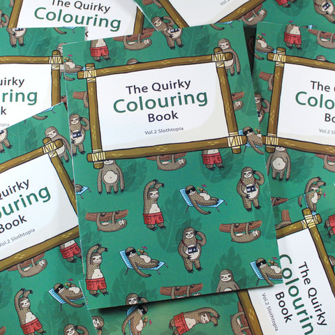 The Quirky Colouring Book