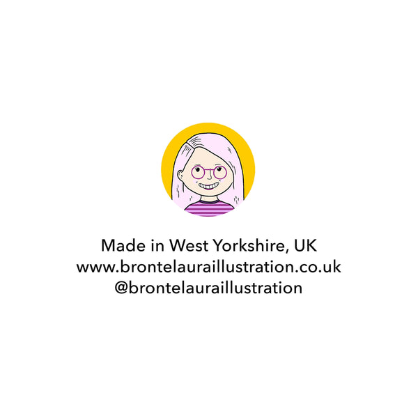 Bronte Laura Illustration logo and business information