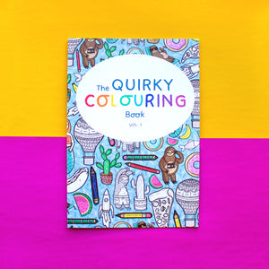 The Quirky Colouring Book Vol. 1