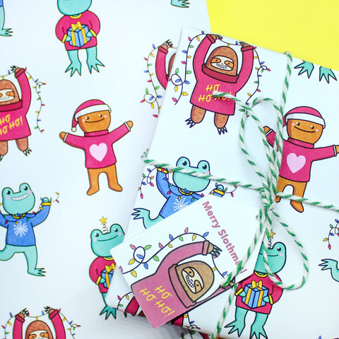 A4 Christmas Wrapping Paper