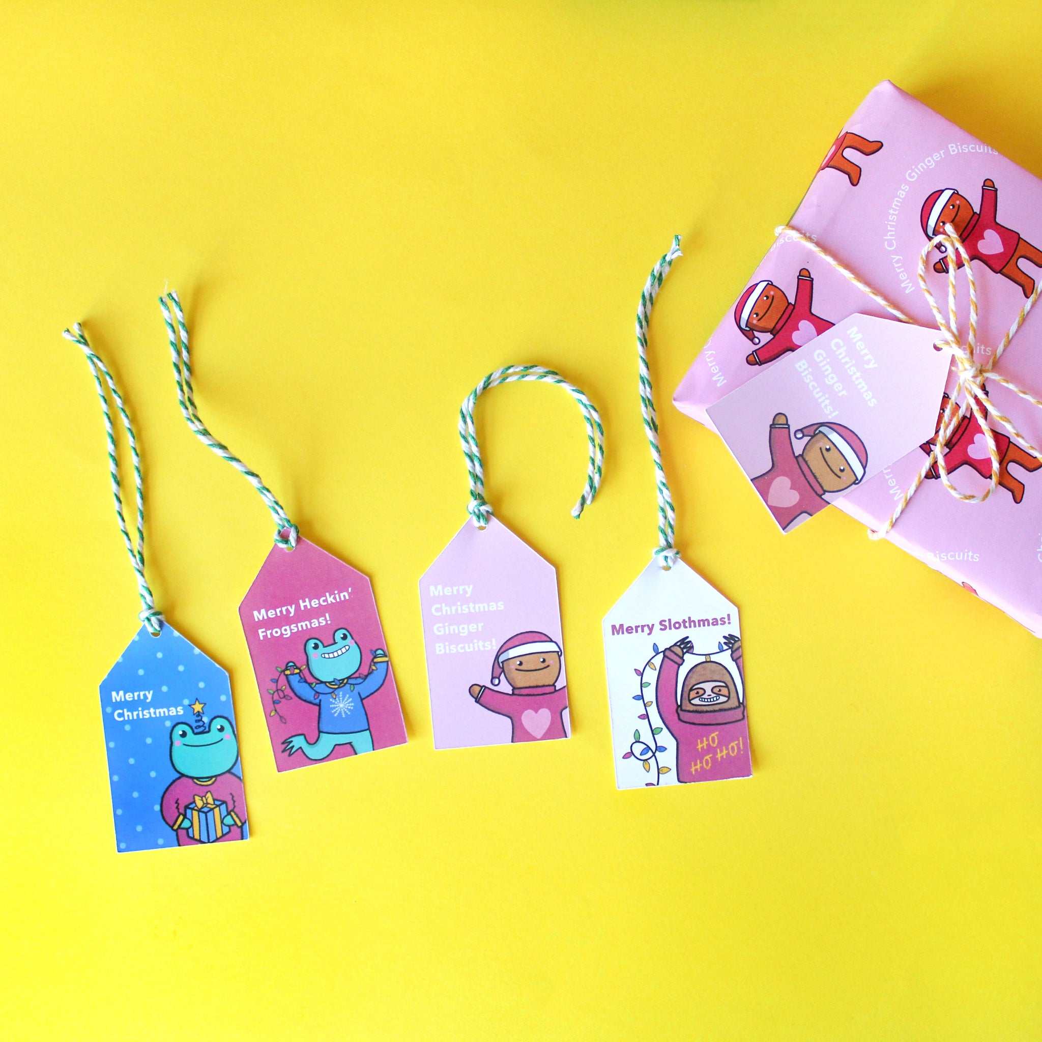 Assorted Gift Tags
