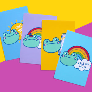 Multipack - The Honest Frogs Prints