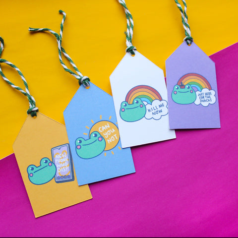 Honest Frogs Gift Tags