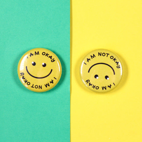 I am Okay Badge