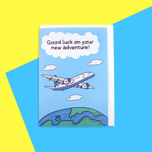 Good Luck on Your New Adventure (Aeroplane)