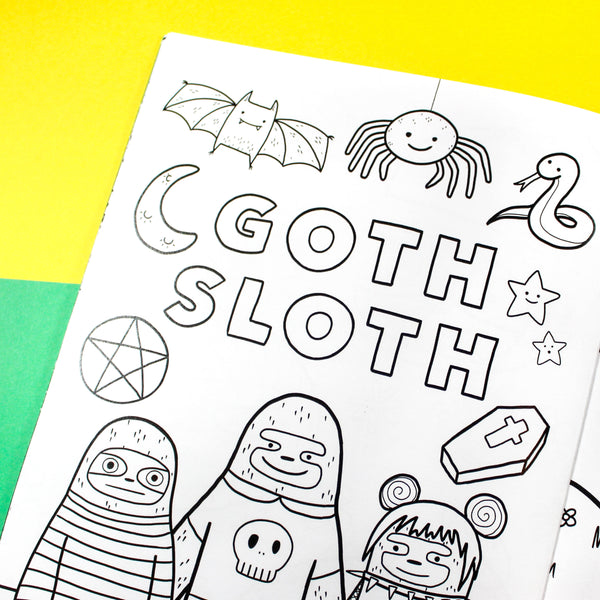 The Quirky Colouring Book Vol.2: Slothtopia