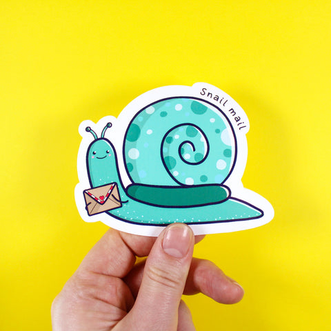 Snail Mail Sticker