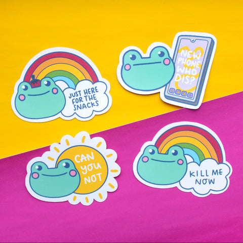 Multipack - The Honest Frog Stickers
