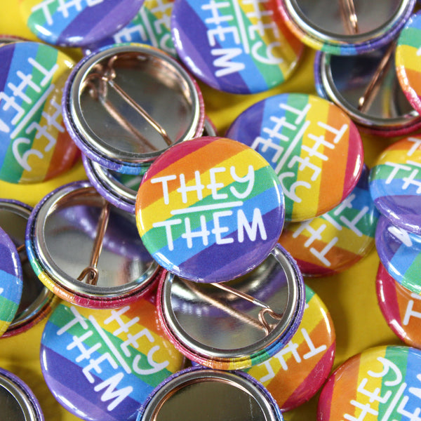 They/Them Badge