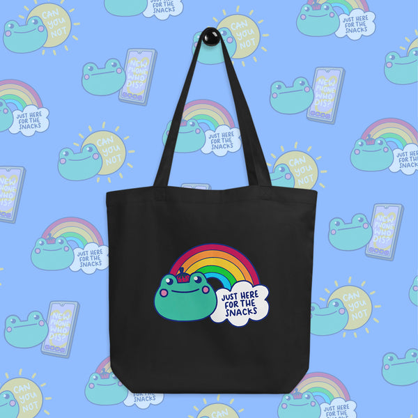 Here For The Snacks Tote Bag
