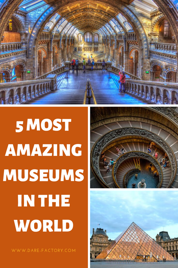5 MOST AMAZING MUSEUMS IN THE WORLD