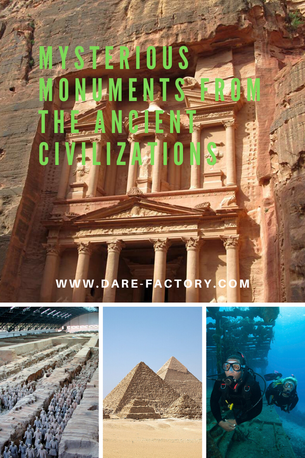 MYSTERIOUS MONUMENTS FROM THE ANCIENT CIVILIZATIONS