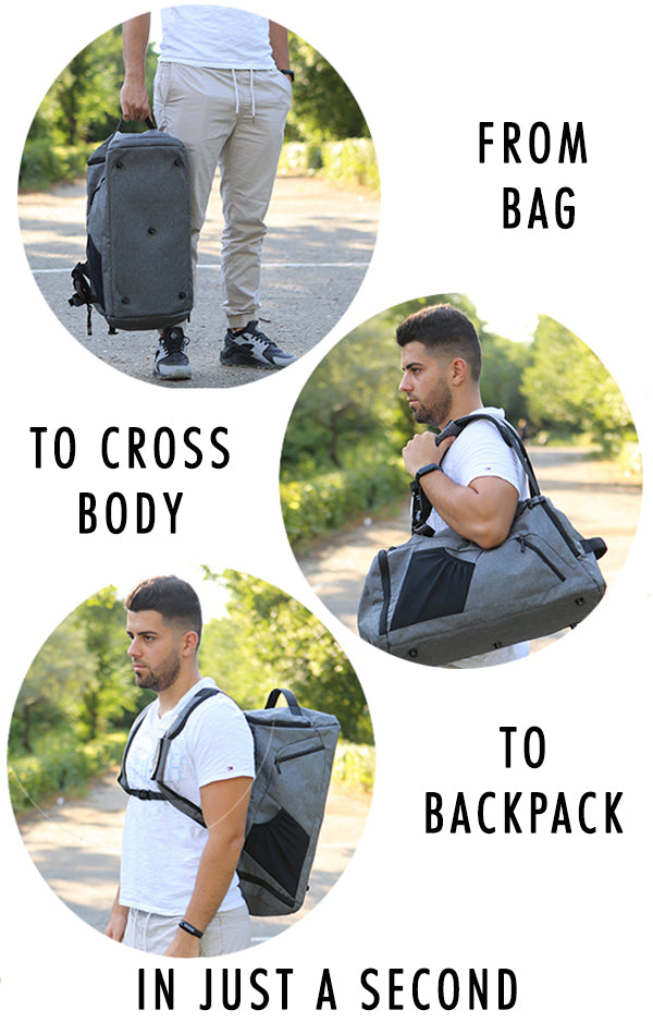 Anti-Theft Multifunctional Backpack - Dare Factory