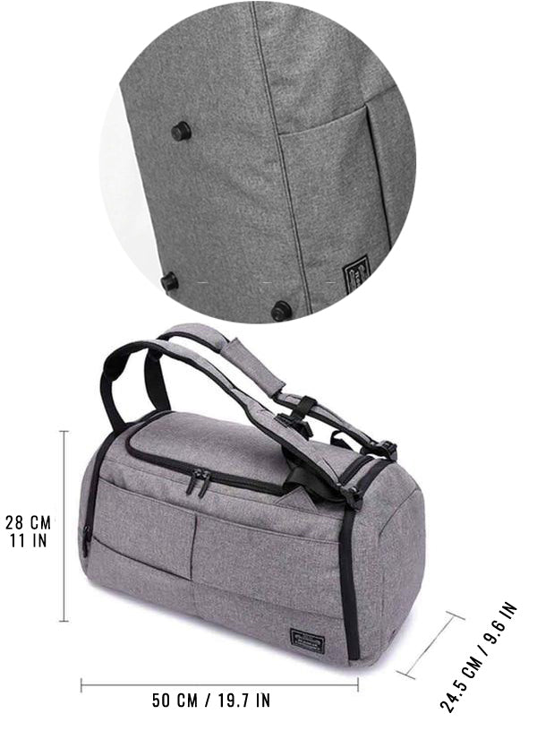 Anti-Theft Multifunction Backpack - Dare Factory