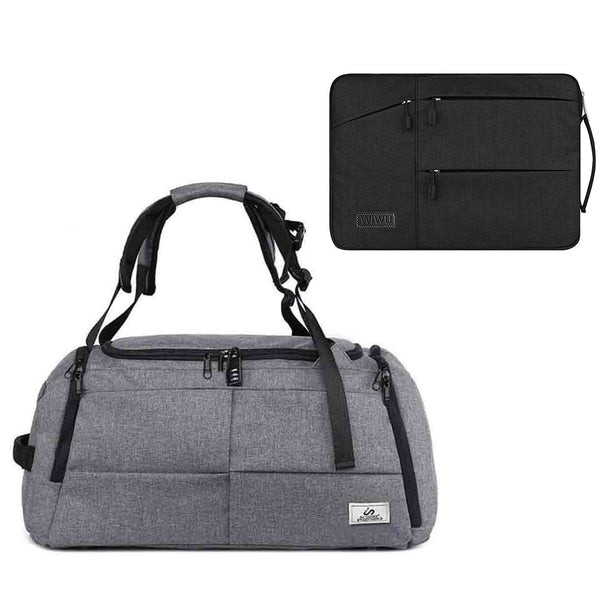 Duffle Bag + Free Waterproof Laptop Case