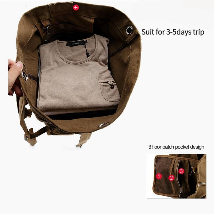 Huge Vintage Backpack-Bag