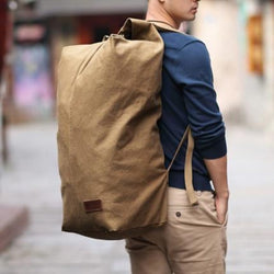 Huge Vintage Backpack-Bag - Dare Factory