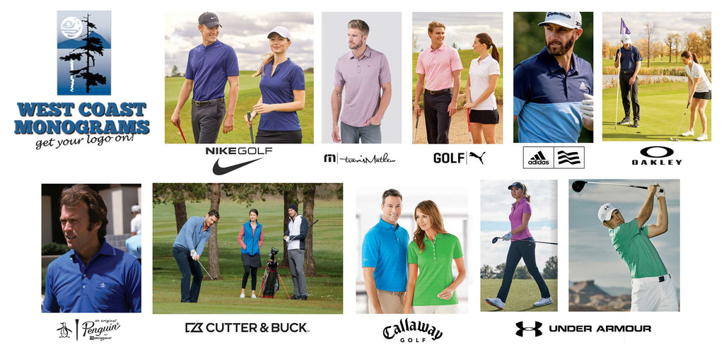 Custom Logo Golf Apparel