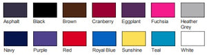 American Apparel Ladies Tee Colors