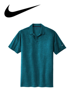 Nike Crosshatch Dri Fit Solid Mens Polo