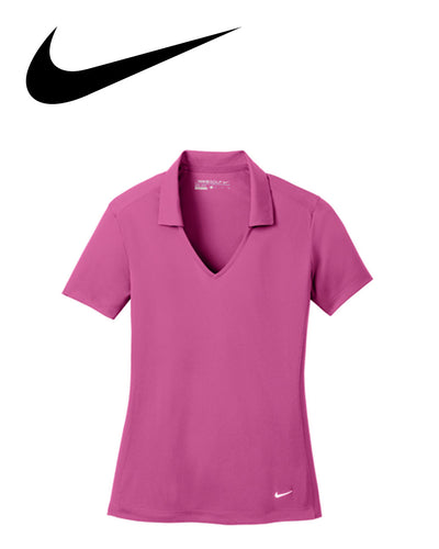 Nike Dri Fit Vertical Mesh Womens Polo