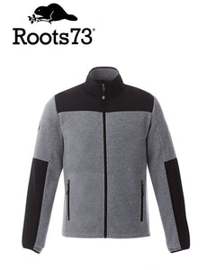 Roots Briggspoint Mens Hybrid Fleece Jacket