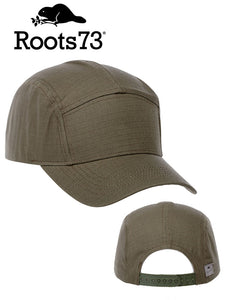 Roots Manitou 7 Panel Snapback Cap