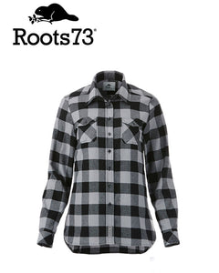 Roots Sprucelake Womens Plaid Shirt
