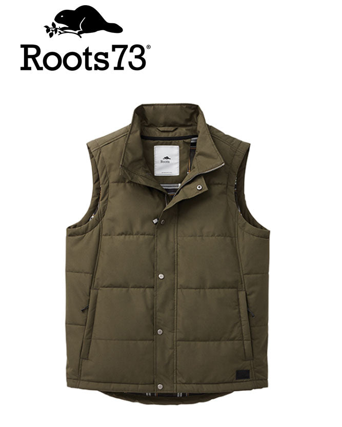 Roots Traillake Mens Insulated Vest