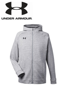 Under Armour Mens Hustle Full Zip Hoodie
