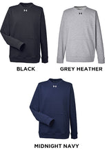 Under Armour Mens Hustle Crewneck Sweatshirt