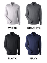 Under Armour Mens Corp Performance Long Sleeve Polo