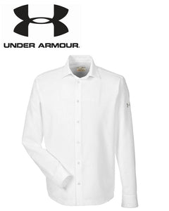 Under Armour Mens Ultimate Tech Long Sleeve Buttondown