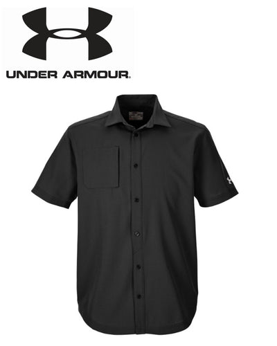 Under Armour Mens Ultimate Tech Short Sleeve Buttondown