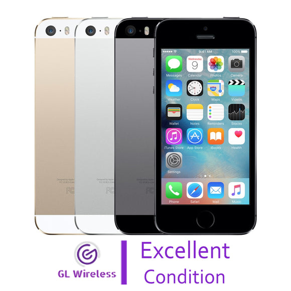 29daa1febffe Excellent Condition Pre-Owned Used Apple iPhone 5S - GL WIRELESS