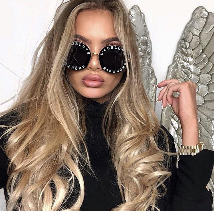 0bffb2bccf19e Round-frame Gucci Inspired Metal Sunglasses- Blind For Love – RishWish
