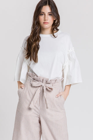 Pleated Pants and Top - RishWish