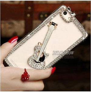 Bling Case For Iphone - Crystal Rhinestone Phone Cover - RishWish