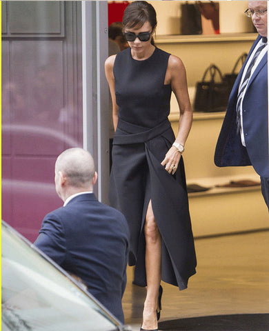 Victoria Beckham Slit Dress - RishWish