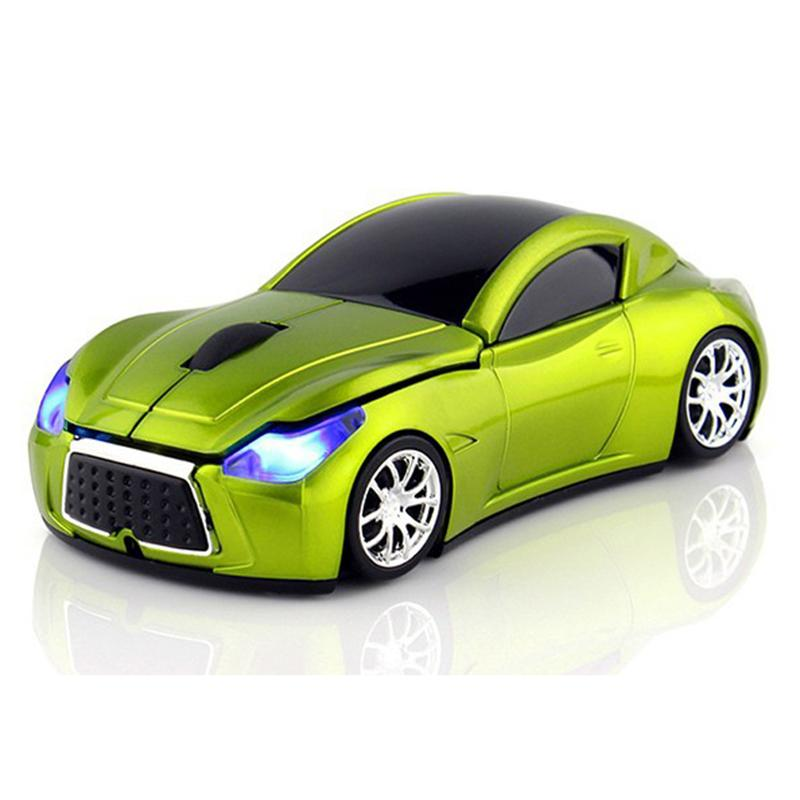 Sports Car Wireless Computer Mouse- High Quality - RishWish