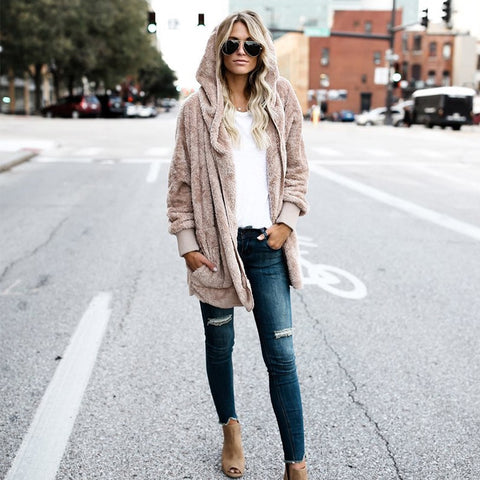 THE COZIEST YET POCKETED CARDIGAN - TAN - RishWish
