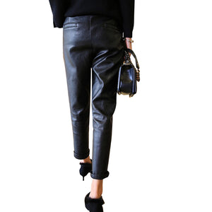Leather Pants Women - RishWish