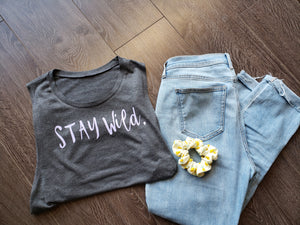 STAY WILD  ladies tank