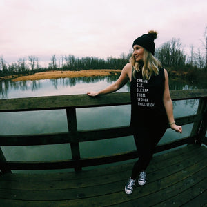 FRASER VALLEY MOUNTAIN RANGE  Ladies Tank