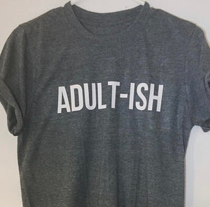 Short sleeved Adult-ish T-shirt