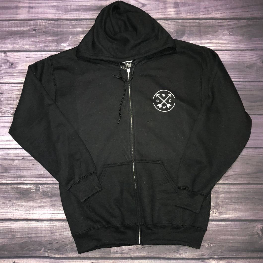 West Coast Wild Child Zip up Hoodie